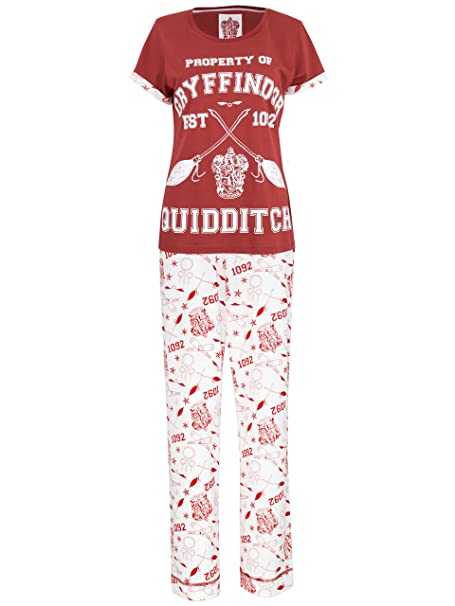 Harry Potter - Pijama para mujer - Harry Potter Quidditch - Small