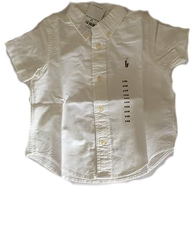 Ralph Lauren - Camisa - para bebé niño Blanco blanco 24 Meses ...