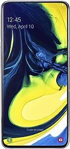 Samsung Galaxy A80 SM-A805F/DS 128GB Dual-SIM (GSM Only, No CDMA) Factory Unlocked 4G/LTE Smartphone - International Version (Ghost White)