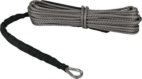 Extreme Max 5600.3081' The Devil's Hair ATV / UTV Winch Rope, Gray