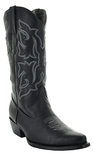 bf34e983d Amazon.com   Country Love Pointed Toe Women's Cowboy Boots W101-1001 ...