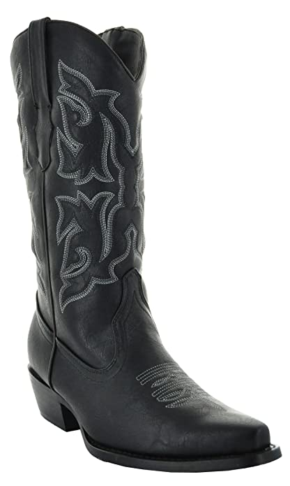 amazon com country pointed toe s cowboy boots w101