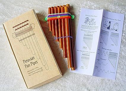 Siesta - Zampoña (flauta de pan peruana, 13 notas, producto e ...