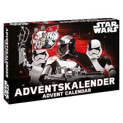 CRAZE 57385 - Calendario de Adviento Disney Star Wars Episodio VIII: Juguetes y juegos