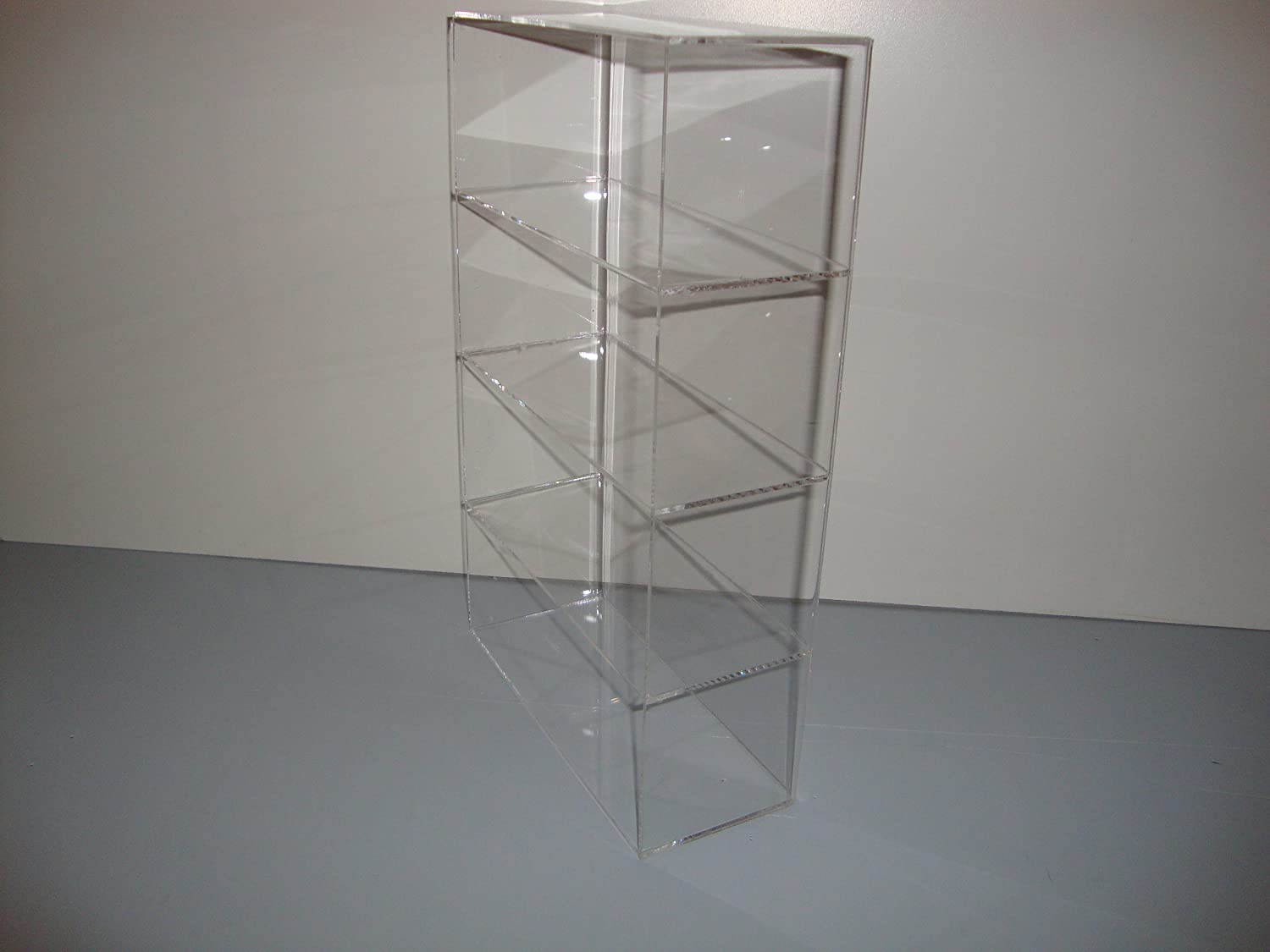 shelf cut display gallery perspex cabinet melbourne to acrylic countertop size