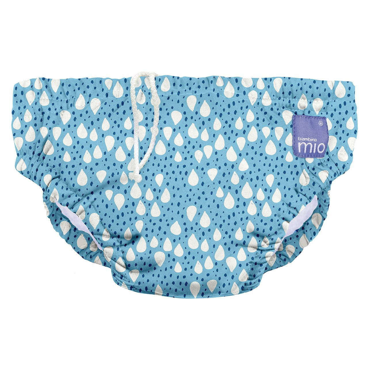 Bambino Mio, Reusable Swim Nappy, Blue Tail, Small (0-6 months) Bambino Mio UK SWPS BLU