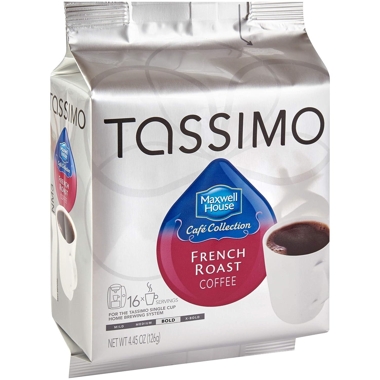 Maxwell House café tostado francés, discos en T para ...