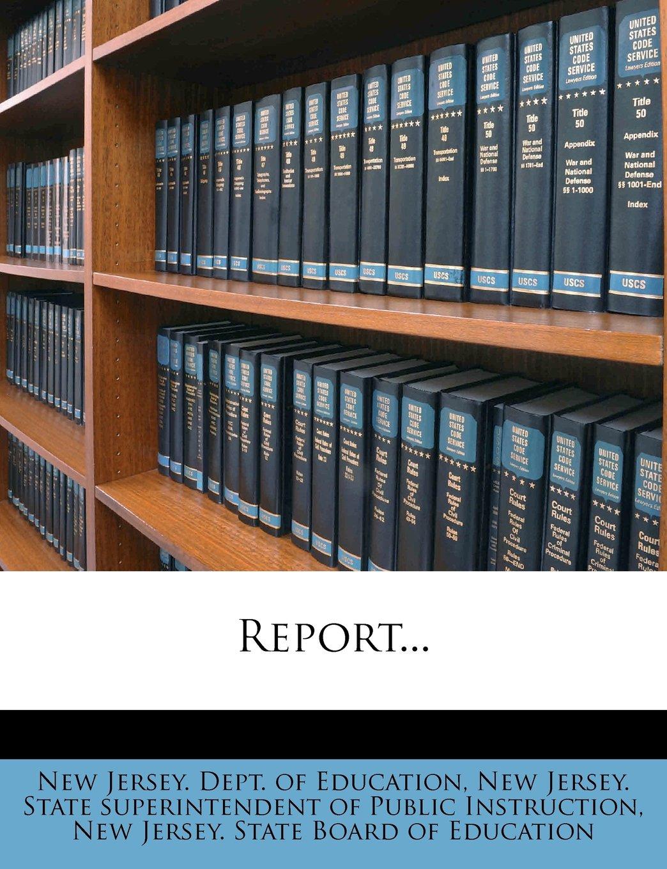 Read Online Report... ebook