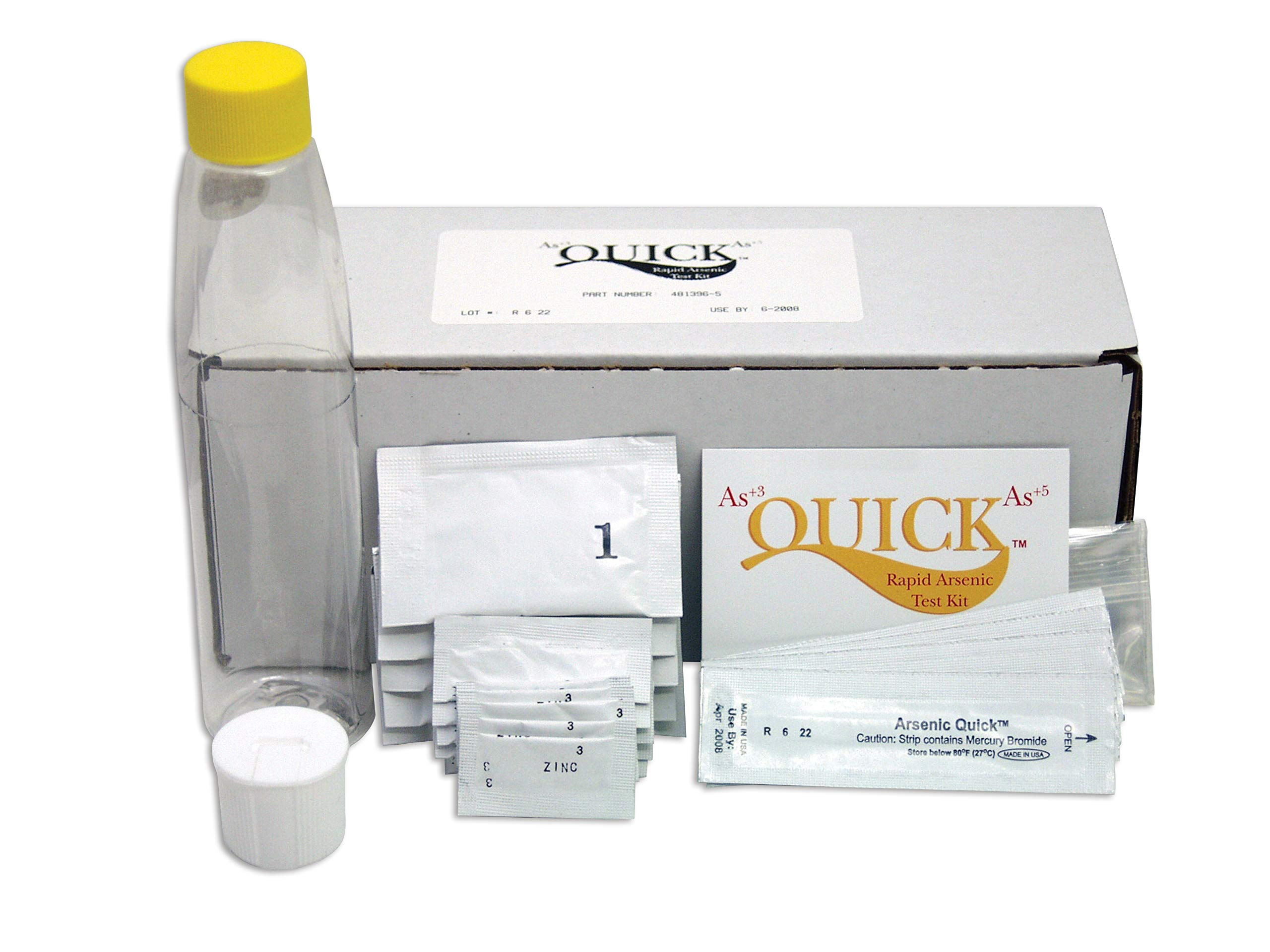 Industrial Test Systems Quick 481396-W Arsenic Wood Field Testing Kit, 5 Tests, 12 Minutes Test Time by Industrial Test Systems