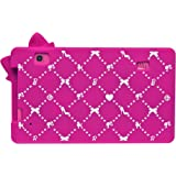 Pochette de protection 3D en silicone Lexibook Barbie Tablette 7``