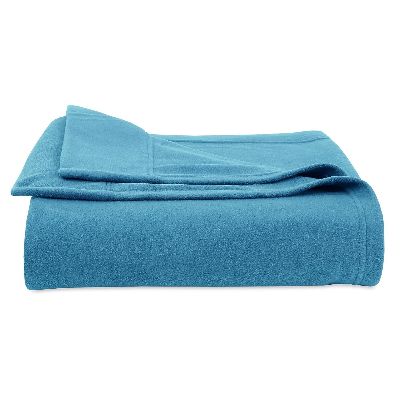Berkshire Blanket Original Microfleece Set Fleece Sheets, Twin, Linen E0095-TW-015