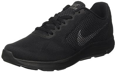 Nike Revolution 3 Herren Turnschuhe, Schwarz (Black   Metallic Dark Grey    Anthracite) 506e8f56d0
