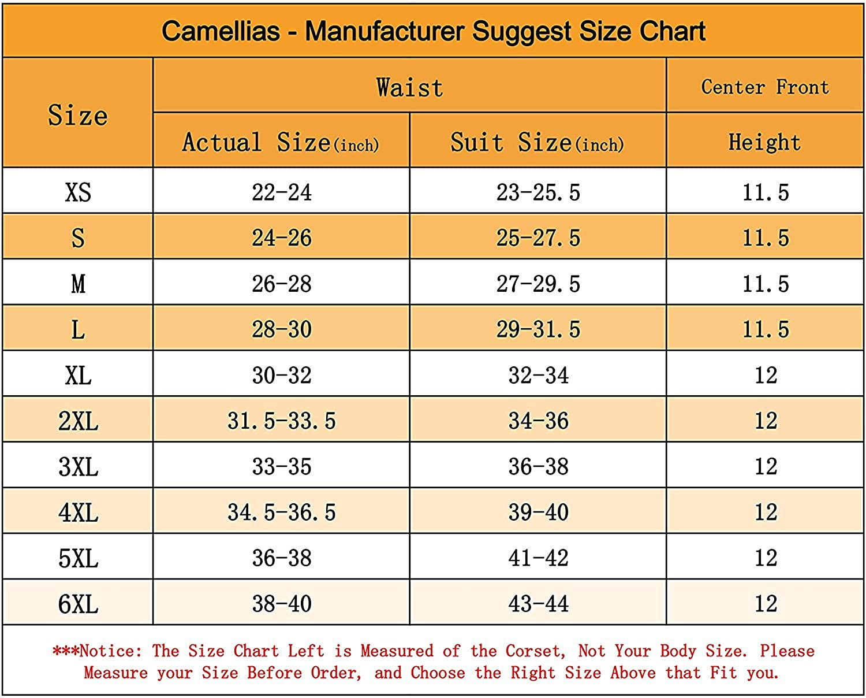 Camellias women s classic 3 hooks latex waist trainer shapewear
