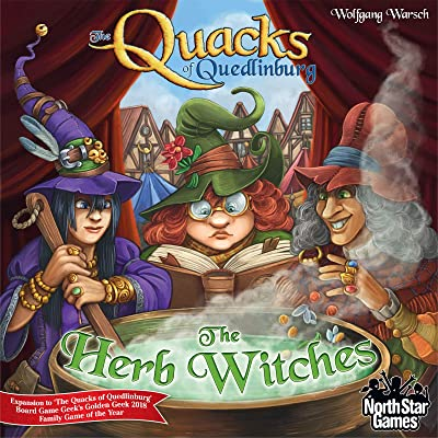 North Star The Herb Witches: Quacks of Quedlinburg: Toys & Games