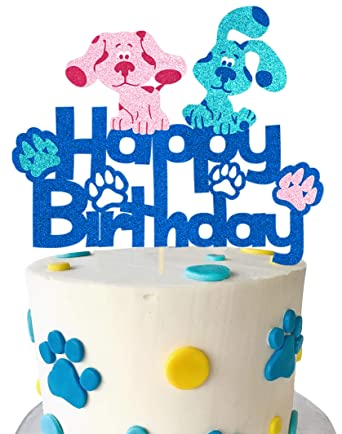 Puppy centerpiece puppy birthday party puppy party decorations dog party Puppy cake topper dog centerpiece puppy birthday