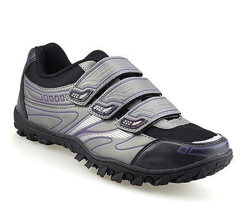 Crivit Sports - Zapatillas de Ciclismo de Piel sintética para ...