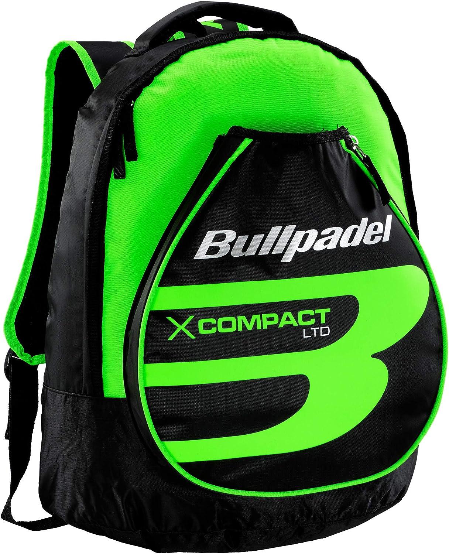 Mochila Bullpadel X-Compact Verde Flúor: Amazon.es: Deportes y ...