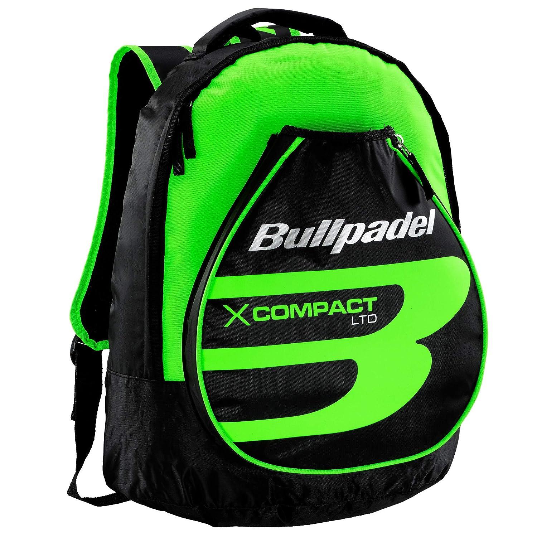 Mochila Bullpadel X-Compact Green: Amazon.es: Deportes y aire libre