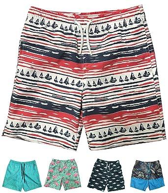 a548ecf1a9c Ingear Little Boys Quick Dry Beach Board Shorts Swim Trunk Swimsuit Beach  Shorts with Mesh Lining