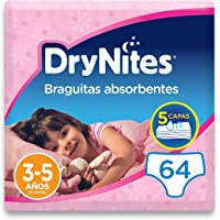 DryNites - Braguitas absorbentes para niña - 3-5