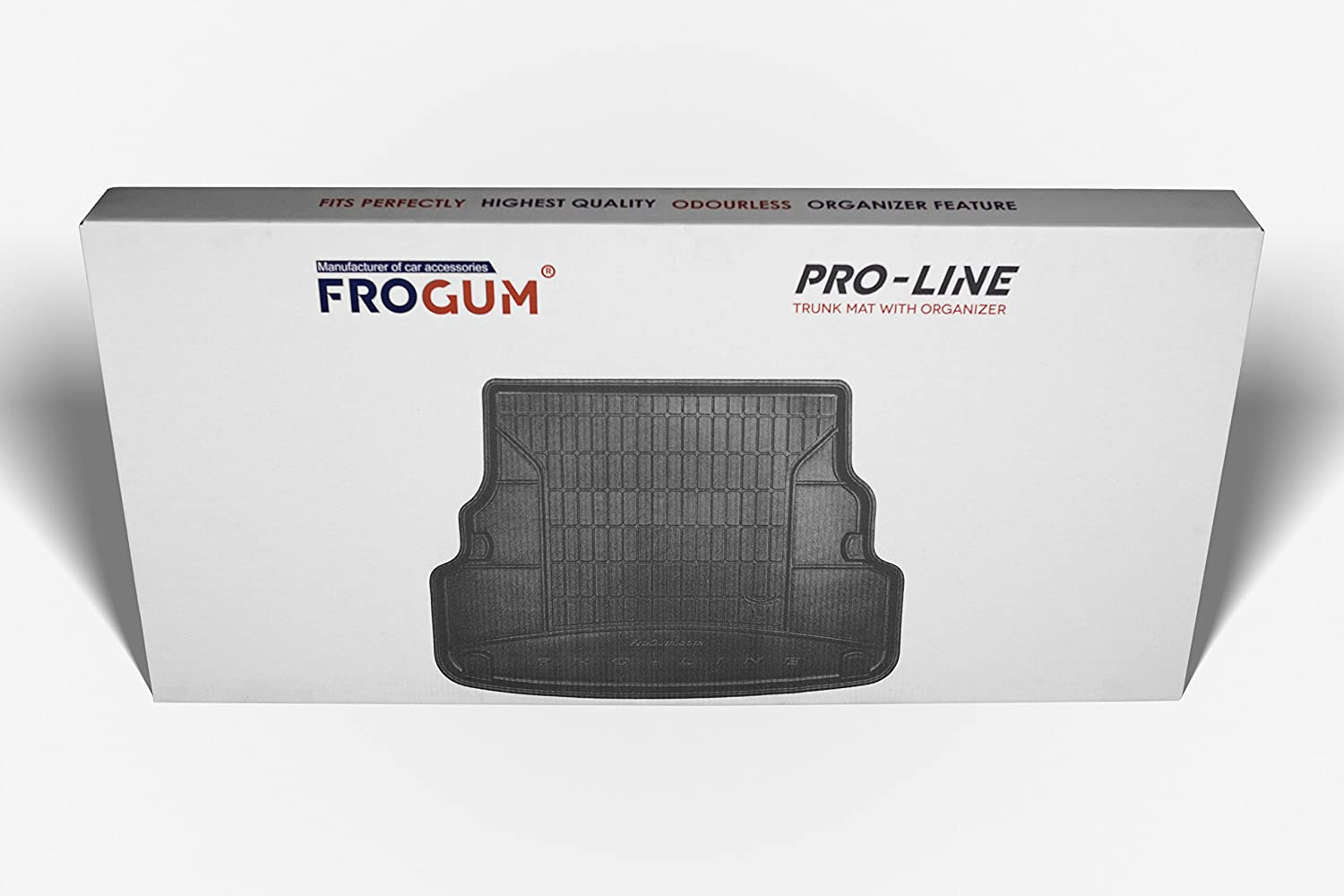 Boot Liner Organiser Function with Non-Slip Solution