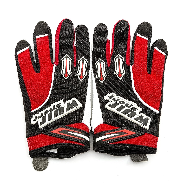 Wulfsport Kids Children Attack Motocross Motorbike Gloves Junior Off Eoad Trials Mountain Bike White XXS