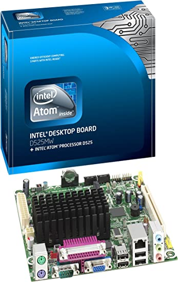 Intel D525MW Dual Core Atom CPU D525 1.8Ghz Mini ITX Motherboard w// IO Shield