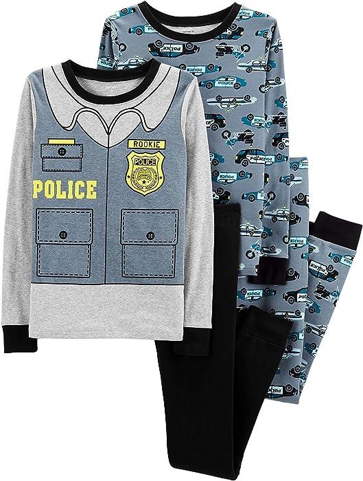 0f32e1039 Amazon.com  Carter s Toddler Boys 4 Pc Pajama PJs Sleep Play Sleep ...