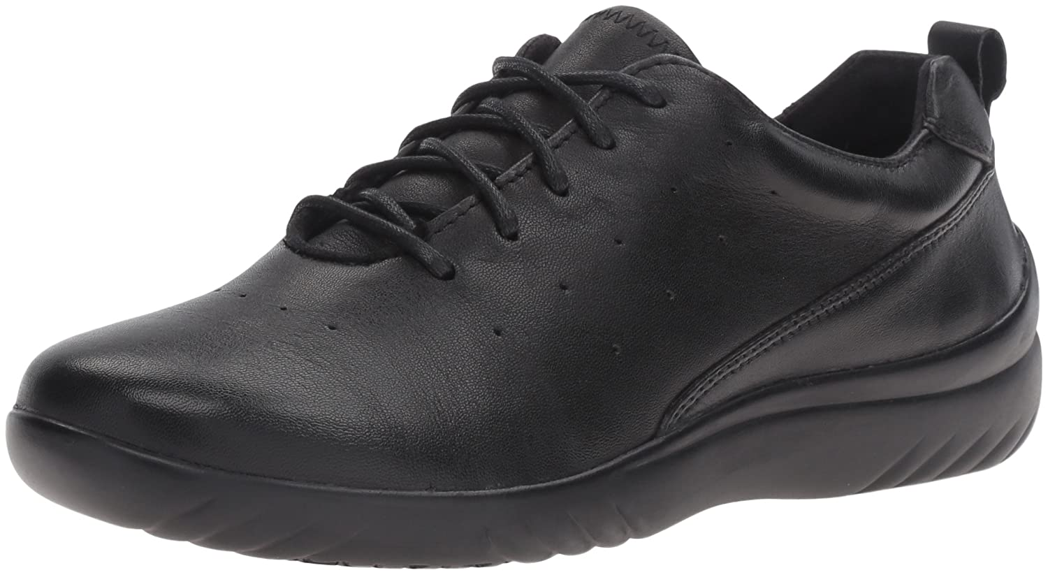 Klogs USA Women's Fairfax Fashion Sneaker B01BKVQEH0 7 B(M) US|Black Smooth