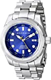 Android Men's AD766BBU Armor 50 Vintage Analog Display Automatic Self Wind Silver Watch