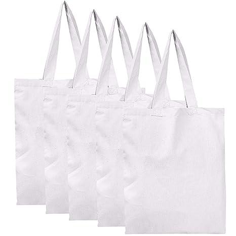 BagzDepot - Bolsas reutilizables de tela de algodón 100 ...