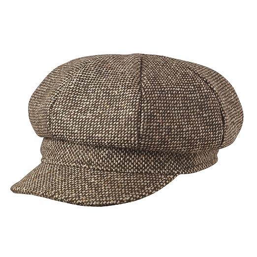 MAYSER - Basco scozzese - Donna marrone Small  Amazon.it  Abbigliamento 037525d234d3