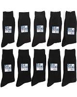 ソックスONE メンズ ビジネスソックス 銀イオン 靴下 抗菌 防臭 10足セット