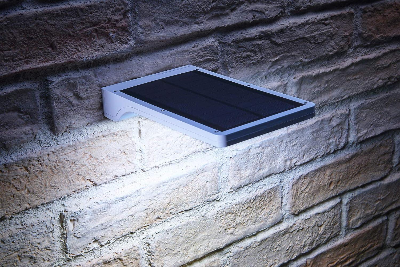 Panneau de mur ext/érieur /à /énergie solaire Auraglow 36 LED avec capteur de lumi/ère du jour et d/étection de mouvement PIR