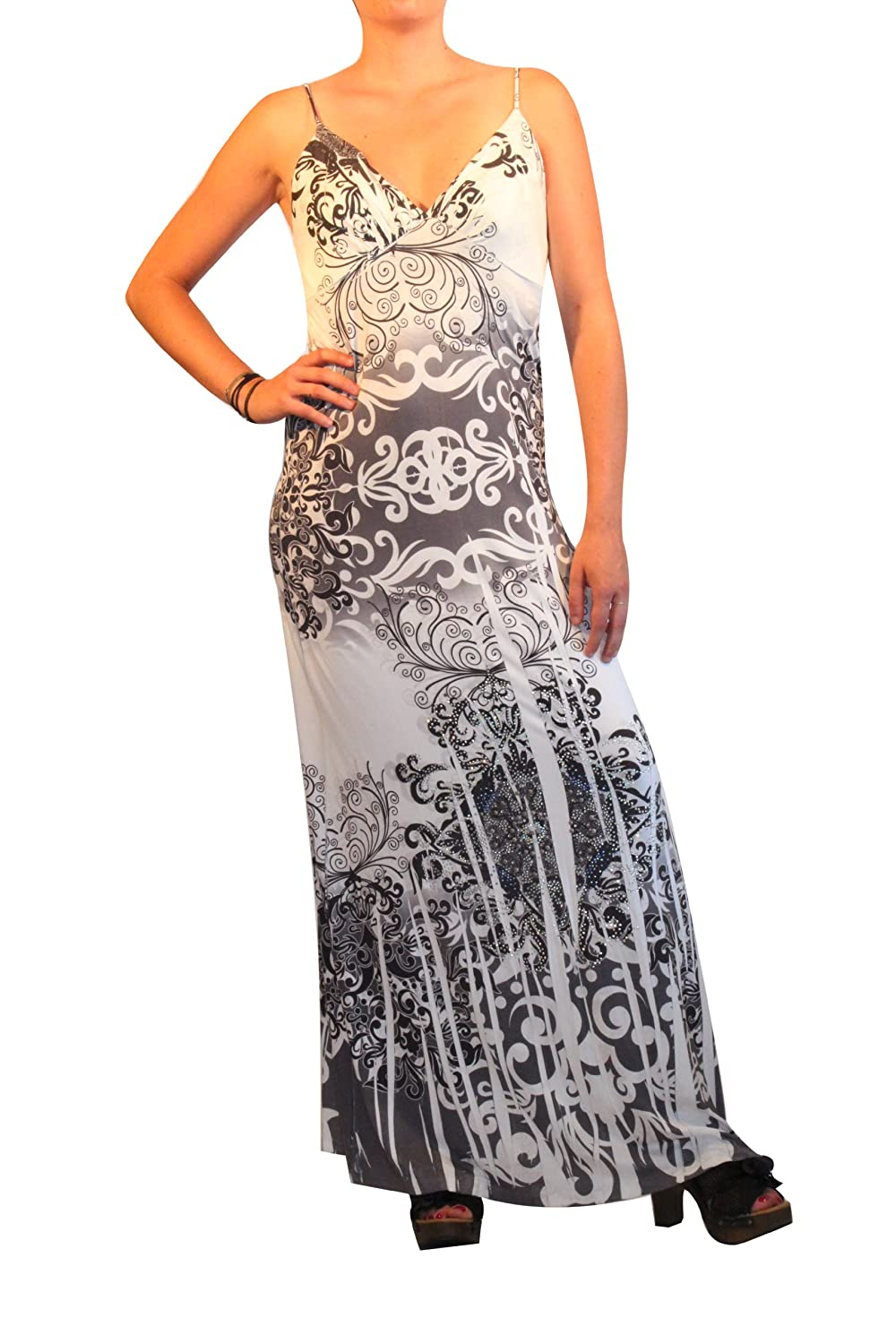 Waooh - Fashion - Langes Kleid Evane - Gris