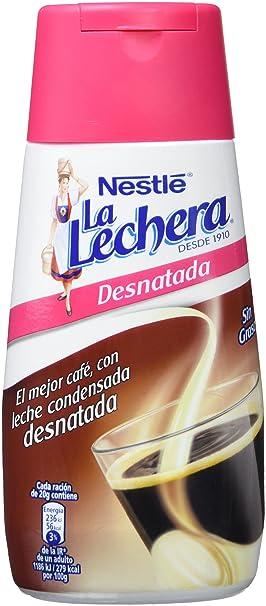 Nestlé La Lechera - Leche Condensada Desnatada - 4 Paquetes de 450 g