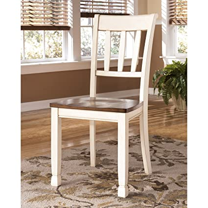 Amazon Wooden Dining Side Chair Set 2 Pair Od Durable