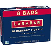 Larabar, Gluten Free Bar, Blueberry Muffin, 8 Count