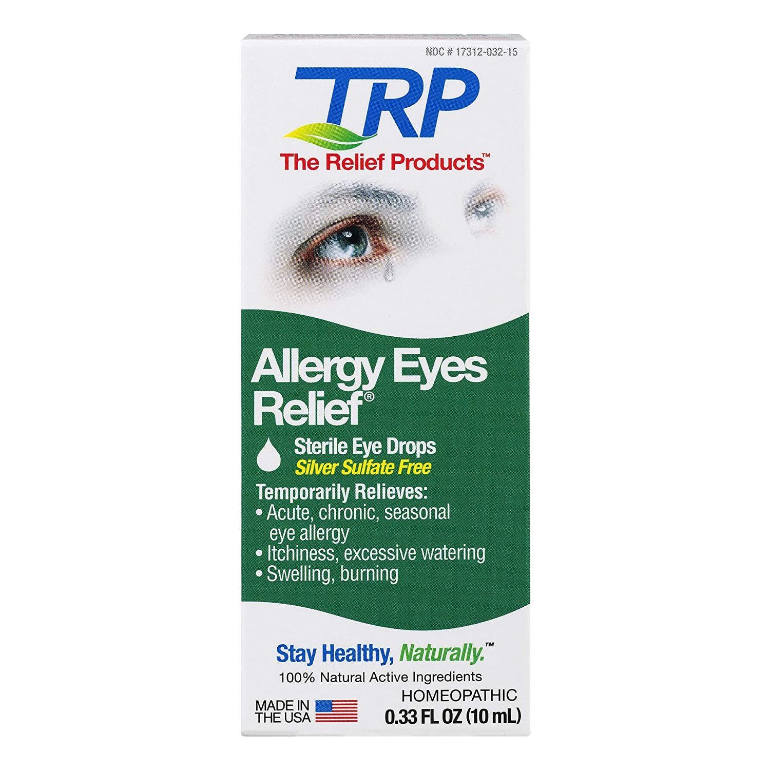 Eye Allergy Drops >> Amazon Com The Relief Products Allergy Eye Drops For