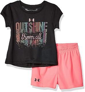 61de6de21 Amazon.com: Under Armour Baby Girls' Star Spangled Dress Set, 2 ...