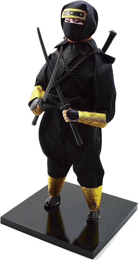 Amazon.com: Japonés Guerrero Samurai, Ninja de la muñeca ...