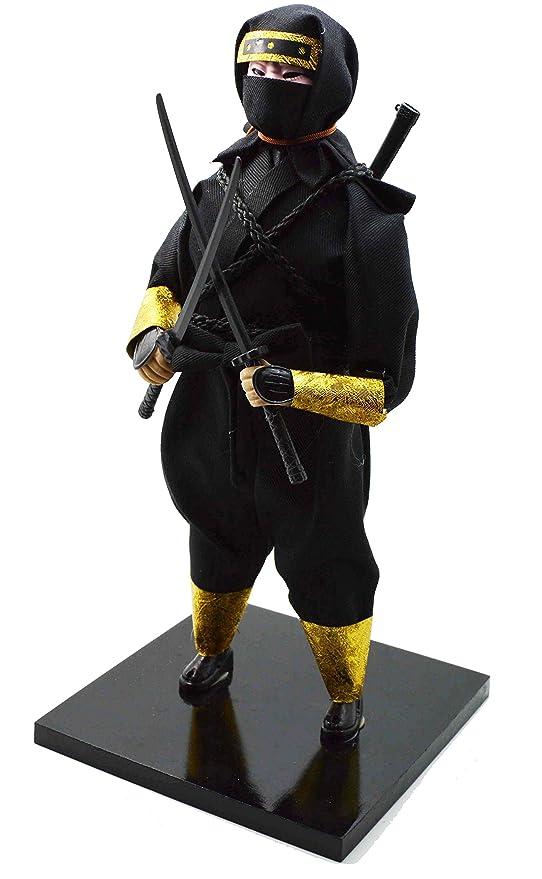 Japonés Warrior - Muñeca - Samurai Ninja- 30 cm/12: Amazon ...