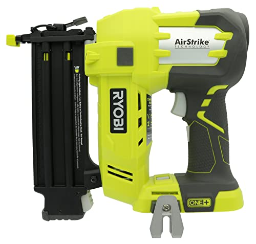 Ryobi P320 Airstrike 18 Volt One Lithium Ion Cordless Brad Nailer Battery Not Included, Power Tool Only