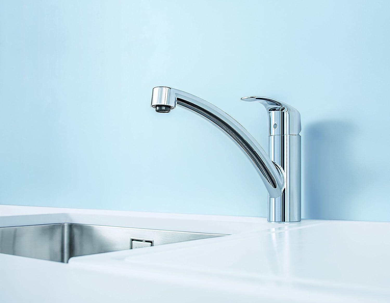 Grohe 33281002 Eurosmart New Kitchen Faucet (Chrome): Amazon.in ...