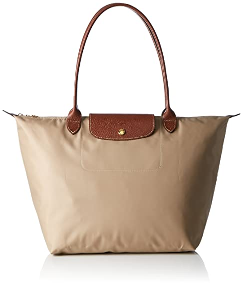 dd1b364d69b0 Longchamp Women 1899089 BEIGE bag  Amazon.co.uk  Shoes   Bags