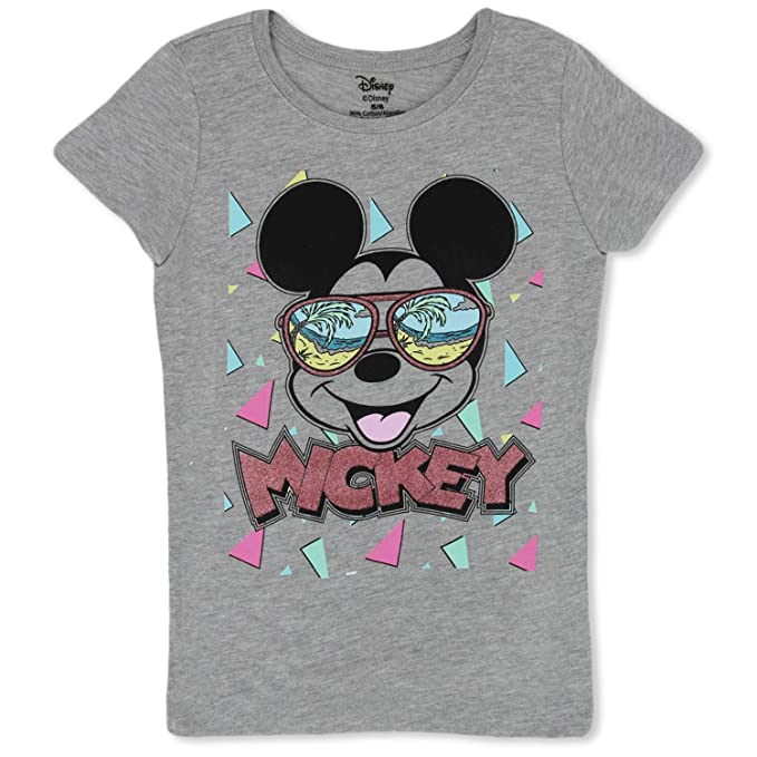 a74cfce97f604 Image Unavailable. Image not available for. Color: Minnie Mouse Girls T- Shirt - Cute Disney Shirts for Girls Kids ...