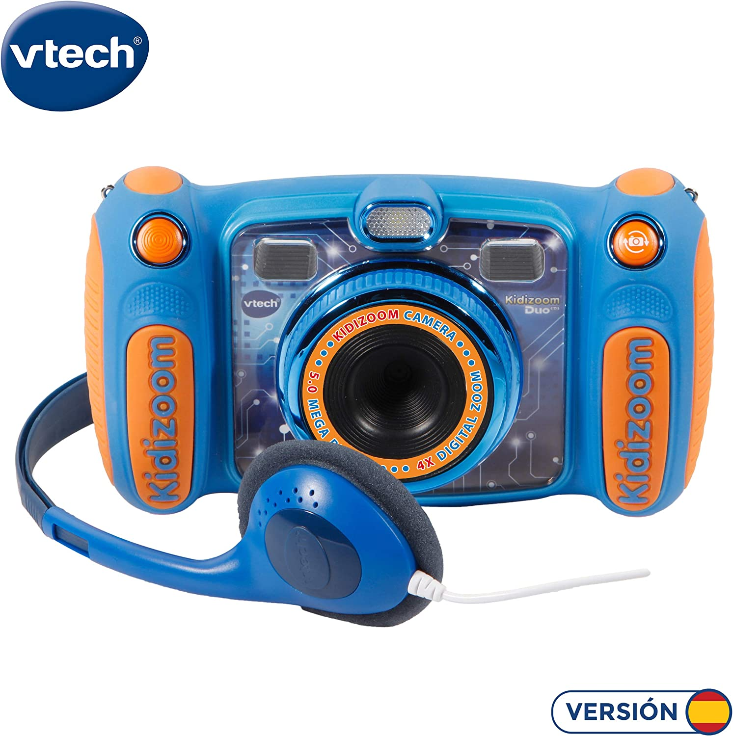 Amazon.es: VTech Kidizoom Duo 5.0 - Cámara de fotos digital ...