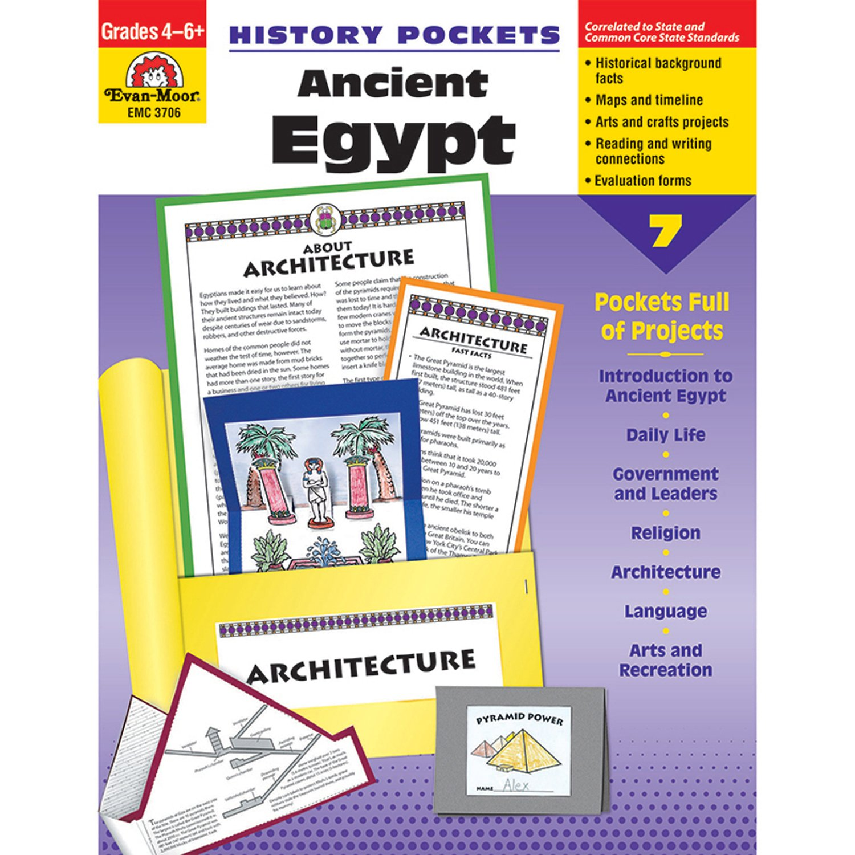 Download History Pockets: Ancient Egypt - Grades 4-6+ pdf epub