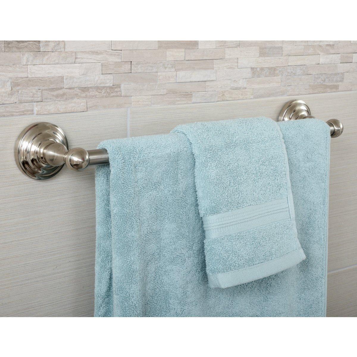 Chrome AB-BR811-PC Modern Towel Bar 24-Inch Basics