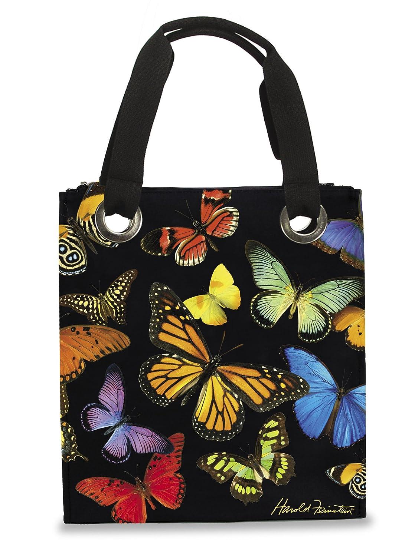 Harold Feinstein Multi Butterfly Modern Tote